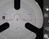 Weco E3 2 Gravurerkennung Zentrieren mit Microgravur