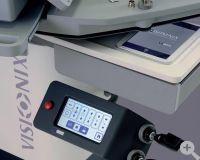 VX2000 Touch Screen Bedienung und Zusatzinstrumenten-Aufnahme