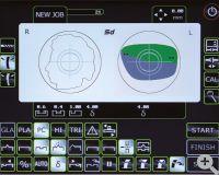 WECO E.6- Hochauflösender Touchscreen mit Darstellung beider Seiten und logischen Icons