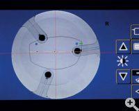 Weco E.3- Digitale, parallaxenfreie Zentriertechnik
