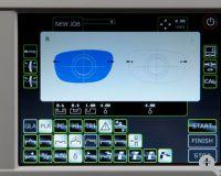 Weco 680/E.6- Großer, neigbarer Touchscreen mit Darstellung beider Seiten und logischen Icons