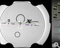 C6 Lasergravuren Erkennung für maxmale Zentriergenauigkeit