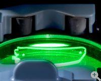 C6 patentierte GraviTec Technologie zur verzerrungsfreien optischen Abtastung