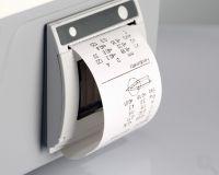 Integrierter Drucker zum schnellen Ergebnisausdruck
