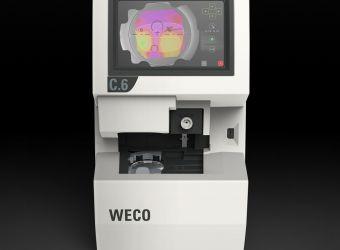 WECO C6 Wellenfrontzentriergerät mit HD Touchscreen