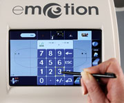 Briot eMotion- Touchscreen mit 3D- Icons